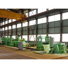 Automatic metal slit production line slit metal equipments