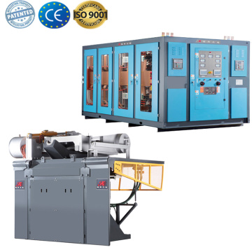 Aluminum melting smelting furnace melting machines price