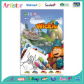 VICKY THE VIKING WICKIE colouring set
