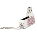 Jewelry USB Flash Drive with customized Logo