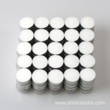 Pressed Tealight Candle 50pcs 4hrs Burning