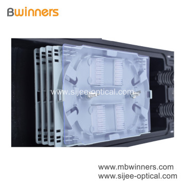 96 Core 2 In 2 Out Horizontal Fiber Cable Jointing Box