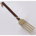 Outdoor Long Wooden Handle Cooking Turner