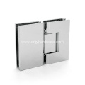 90 Degree Wall to Glass Brass Pivot Hinges