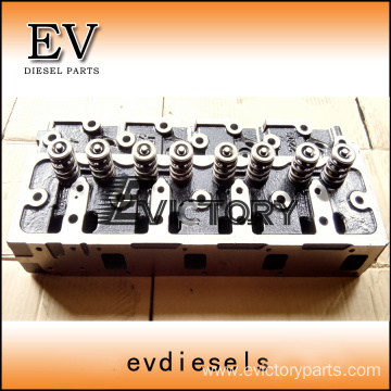 4TN82 cylinder head block crankshaft connecting rod