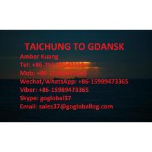 High Quality for Sea Freight To Mediterranean Taiwan Taichung Sea Freight to Poland Gdansk supply to Spain Manufacturer