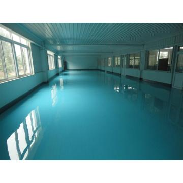 Factory high-gloss epoxy self-leveling floor