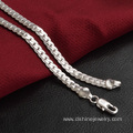Multiple Sizes Women silver Jewelry Curb Link Chain Necklace