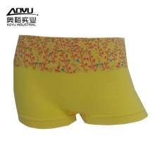 Shantou Underwear Custom Seamless Women Boxer Panties