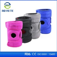 CE yoga neoprene knee support brace pad