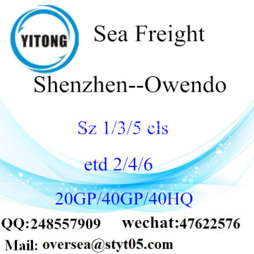 Shenzhen Port Sea Freight Shipping To Owendo