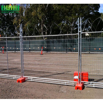 weld mesh canada traffic temporary fence or barricade