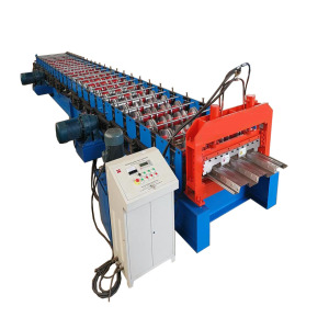 Philippines Style Floor Deck Roll Forming Machine