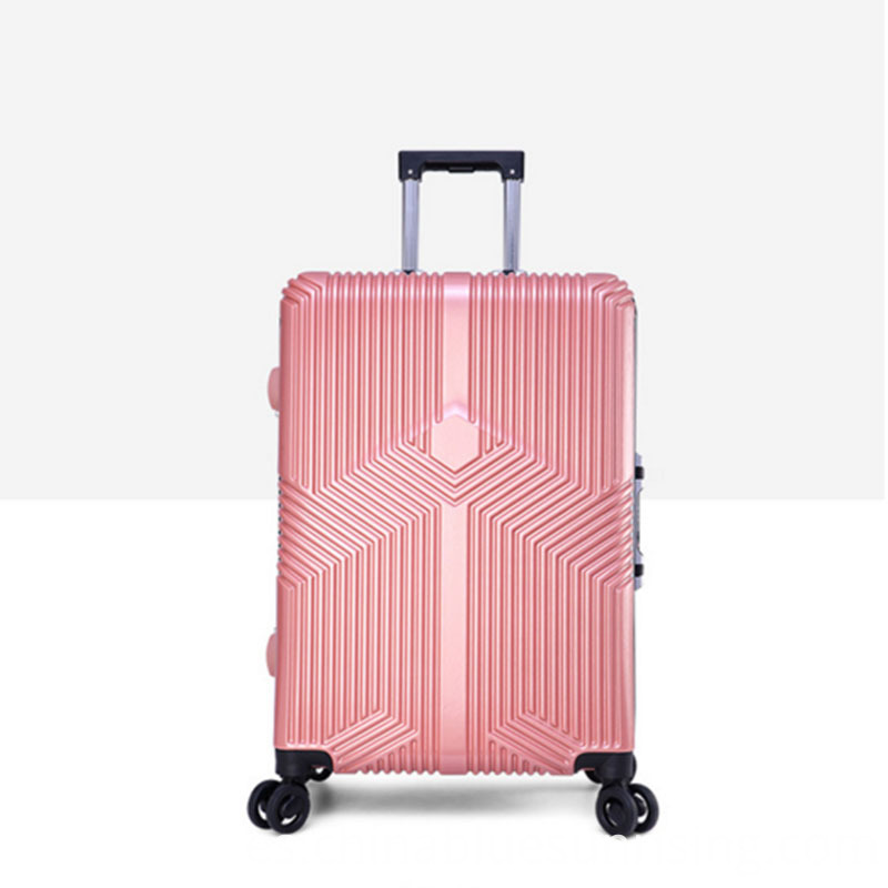 Customized design new fashion abs+pc luggage