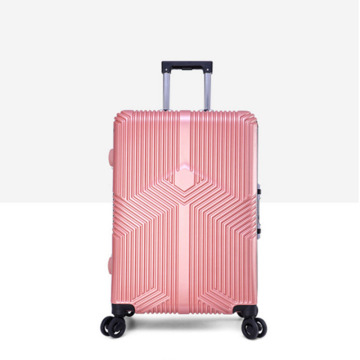 Wholesale ABS PC rolling suitcase aluminium travel luggage