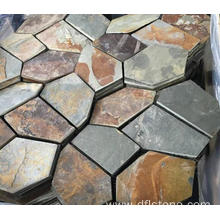 Personlized Products for Garden Paving Stones Autumn rose natural flagstone mat export to Spain Manufacturers