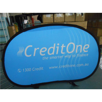 Polyester Horizontal Pop Up A Frame Banner Printing