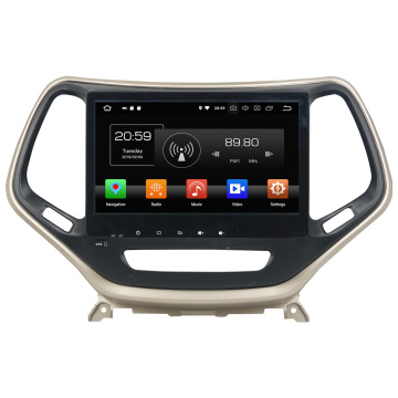 car multimedia system with gps for Cherokee