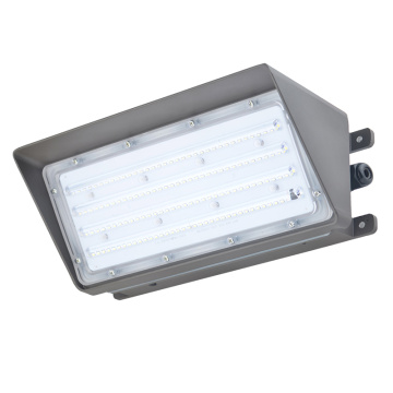 80W жай Led Wall Pack Lights 5000K