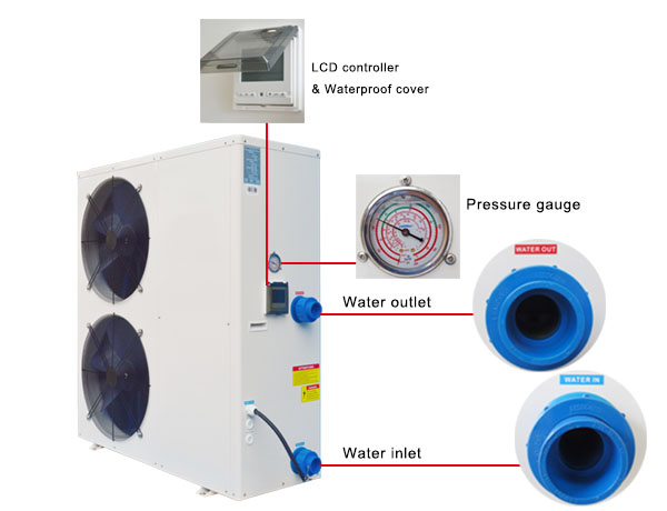 Pool All in One Heat Pump