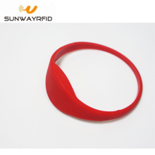 High definition Cheap Price for Closed Type Silicone RFID Wristbands RFID Silicone Wristbands Closed-loop wristband supply to Zambia Factories