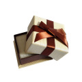 Small ring box jewelry box ribbon decoration