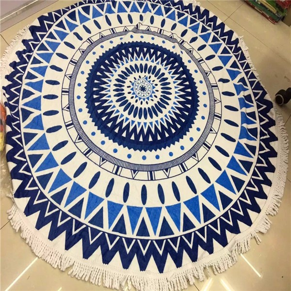 microfiber large mandala beach towel wholesale
