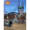 New Design Outdoor Custom Tube Slide For Kids