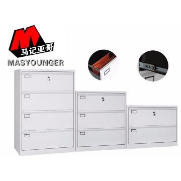 Metal lateral file 4 drawer cabinet
