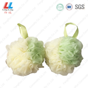 Luxury gradient silk rope sponge ball