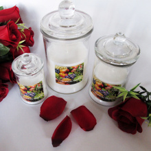 Aromatherapy and Home Decoration Use Scented Soy Candle