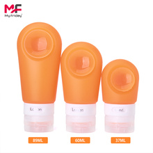 Factory Free sample for China Suction Silicone Travel Bottles,Silicone Liquid Travel Bottles,Travel Size Bottles Supplier Reusable Portable Silicone Travel Bottle Set export to Netherlands Factories