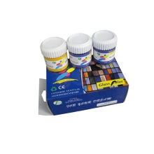 Bottom price for Transparent Glass Paint 6 Colors Glass Paint set export to South Korea Factories