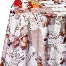 Pvc Printed fitted table covers Linens for Less