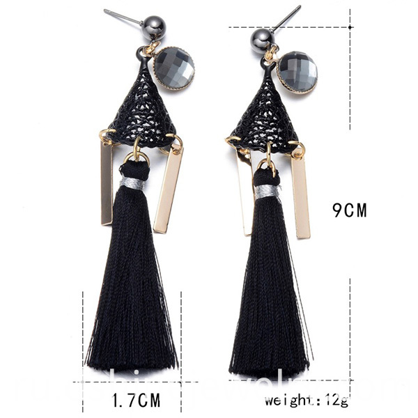 Fashion Long Tassel Earings