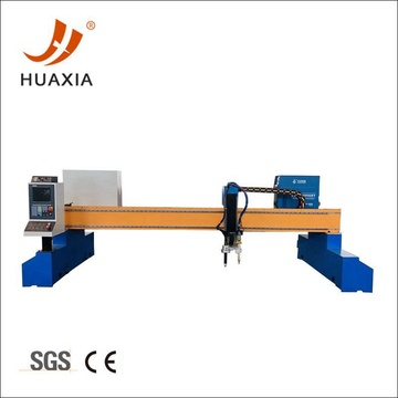MS steel gantry plasma cutting table for profit
