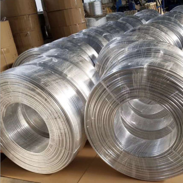 Extruded Aluminum Pancake Tube for Air Conditioner