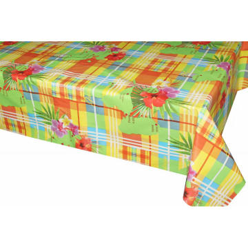 Pvc Printed fitted table covers 24 X 72