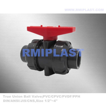 PVC True Union Ball Valve Socket End