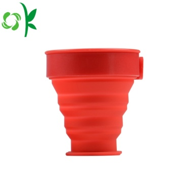 Top Quality Durable Silicone Folding Cup for Sale