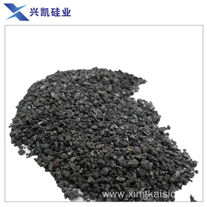 Low grade silicon carbide for excellent deoxidizing agent