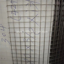 1/4'' 316L Stainless Steel Welded Wire Filter Mesh