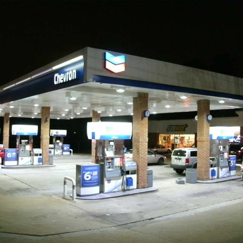 Gas Station Led Canopy Lights