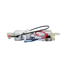 Electric heating body for water faucet