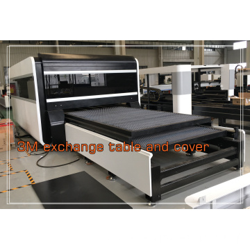 1000 W Cover Fiber Laser Cutting Machine