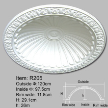 Polyurethane Decorative Ceiling Domes