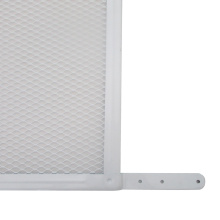 Premium powder coated decorative screen door grille