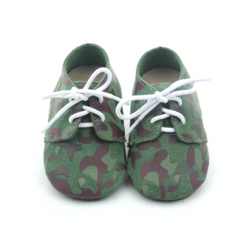 Fancy Camouflage Color Baby Oxford Shoes wholesales