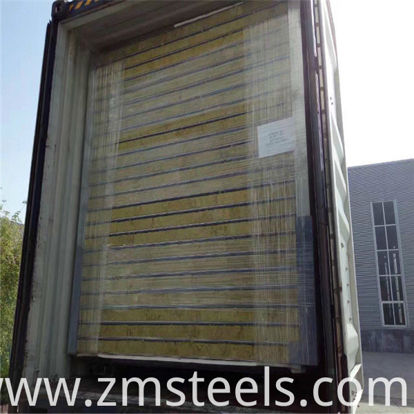 glass wool roof sandwich panel price