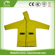Kid' s PVC Raincoat for Selling